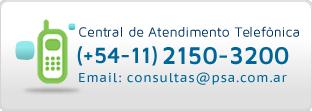 Central de Atendimento telefónica PSA